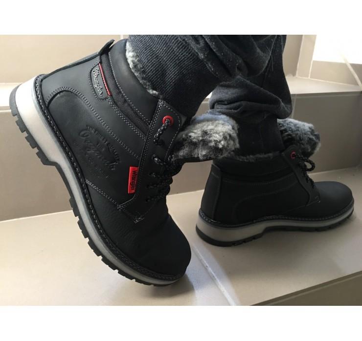 86ef6bebd Зимние мужские ботинки Wrangler Кожа