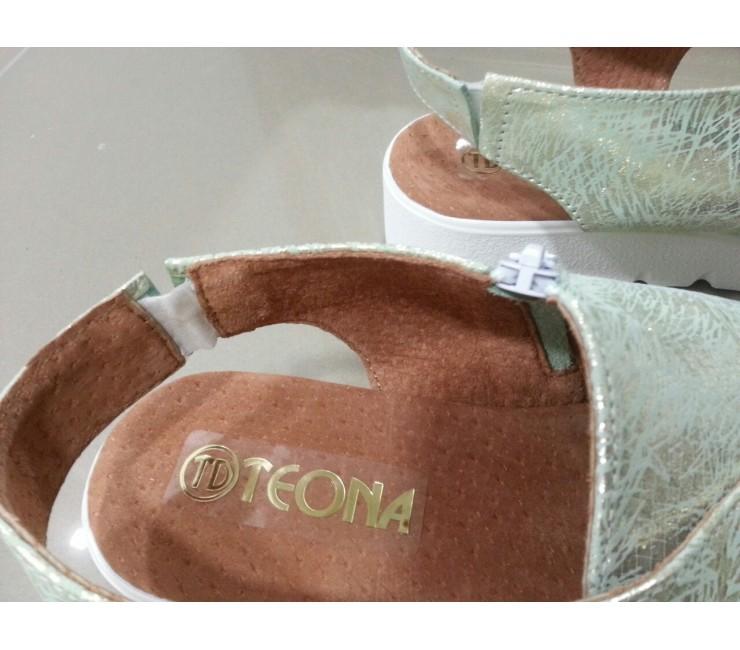 Кожаные Босоножки Teona Chameleon