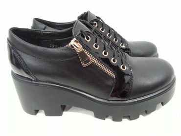 Туфли на тракторной подошве AURIS