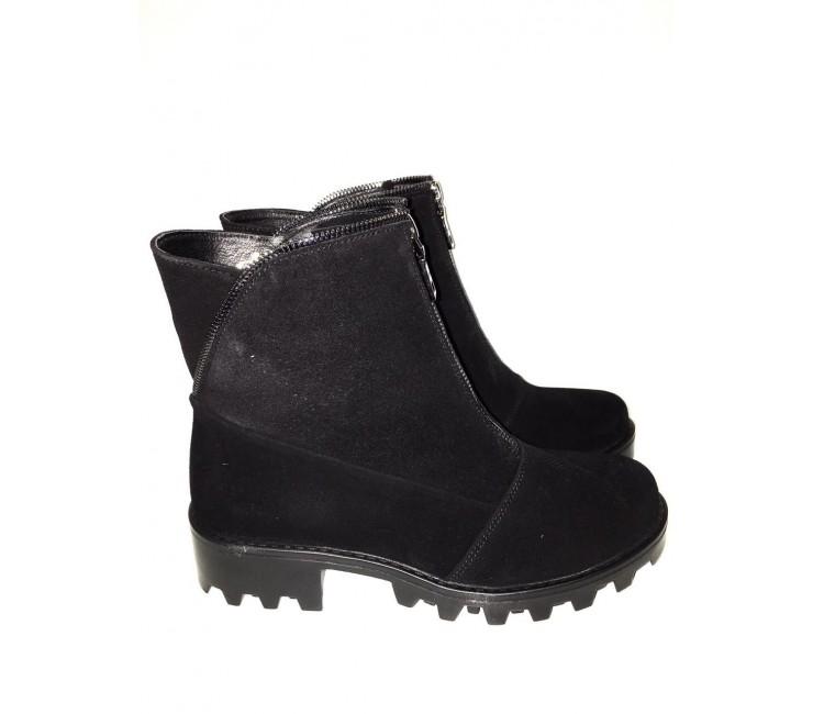Замшевые  ботинки AURIS