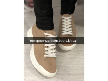Женские замшевые кроссовки Hromhars