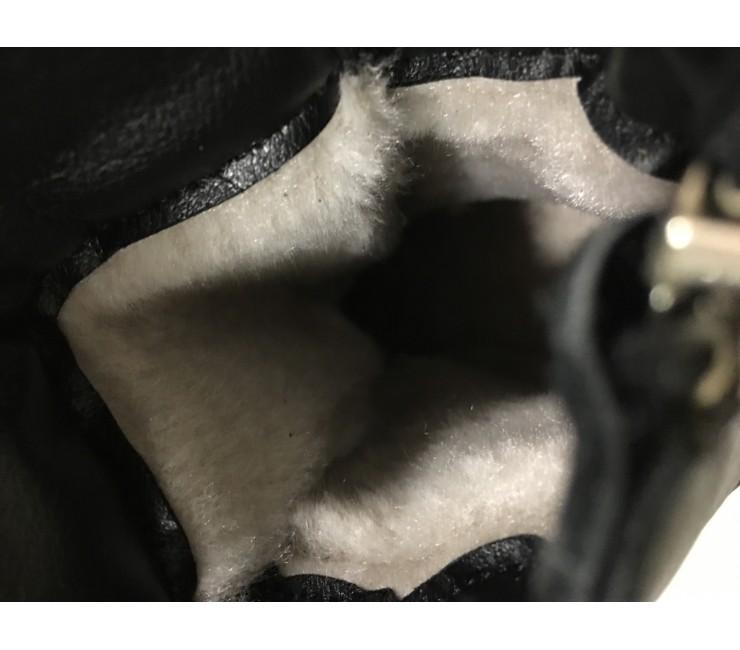 Зимние женские ботинки Hermès на болтах