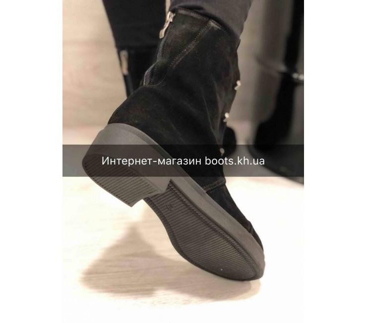 Замшевые Женские Ботинки Teona