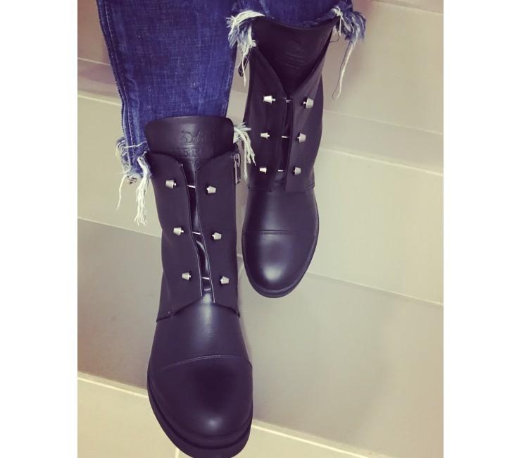 Кожаные женские ботинки Teona