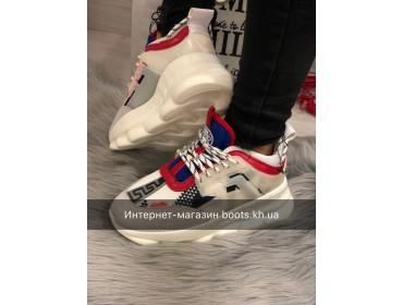 Женские кроссовки в стиле Versace